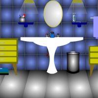 Escape Blue Bathroom