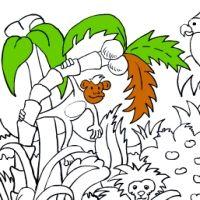 Malowana dżungla