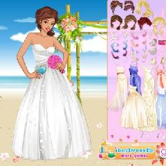 Beach Wedding Style Dress Up