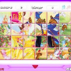 Princess Belle: Rotate Puzzle