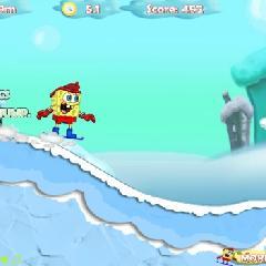 Bob Esponja: SnowBoarding
