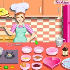 Barbie Cooking: Valentine Blancmange